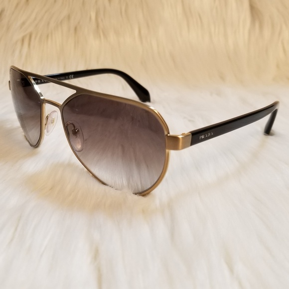 fd0af62f5432 Prada Accessories | Sunglasses Special Edition Gold Frame | Poshmark